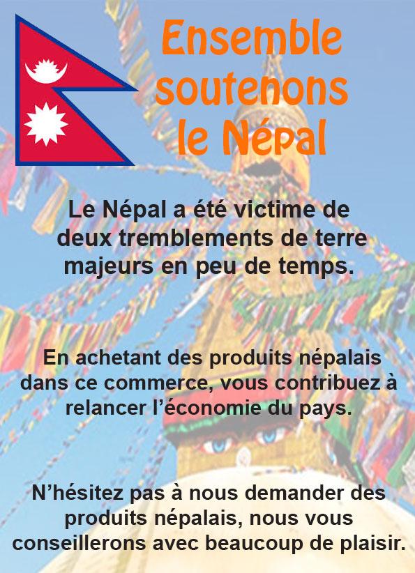 Aider le Népal